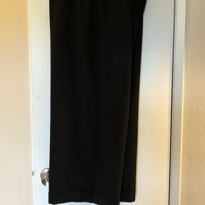 Wide-Leg black trousers 22 great condition